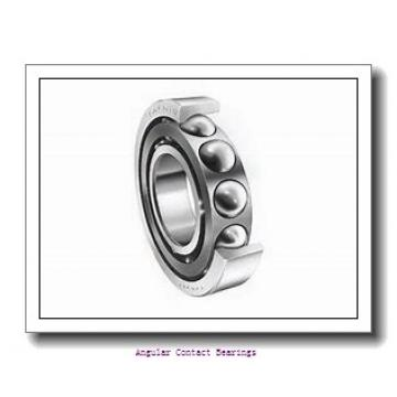 60 mm x 130 mm x 54 mm  Rollway 3312 C3 Angular Contact Bearings