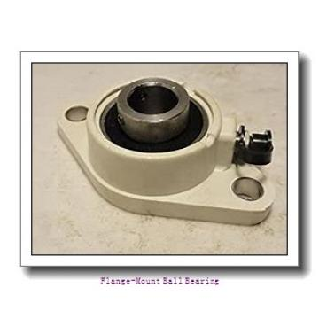 0.8750 in x 3.0000 in x 3.7500 in  Dodge LFSC014NL Flange-Mount Ball Bearing