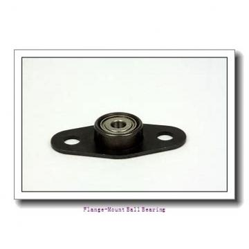 1.0000 in x 2.7500 in x 3.7969 in  Sealmaster CRFC-PN16 S Flange-Mount Ball Bearing