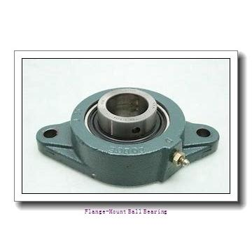 2.2500 in x 5.3750 in x 6.3800 in  Dodge FCSC204 Flange-Mount Ball Bearing