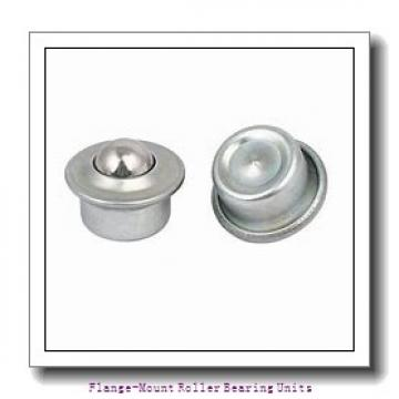 4-7/16 in x 8.7500 in x 10.8800 in  Dodge F4BE407R Flange-Mount Roller Bearing Units