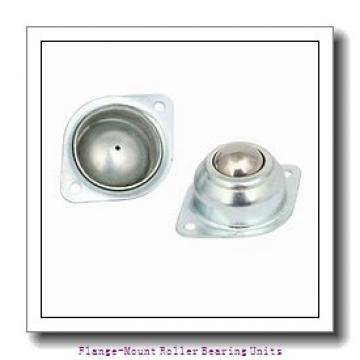 1-3/16 in x 2.8800 in x 3.7500 in  Dodge F4BE103R Flange-Mount Roller Bearing Units