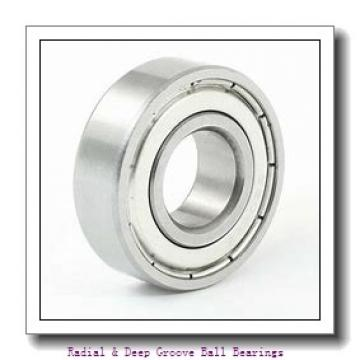0.7500 in x 1.6250 in x 0.4375 in  NSK R12VVCE Radial & Deep Groove Ball Bearings