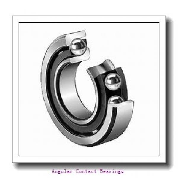 12 mm x 32 mm x 0.6250 in  NSK 5201 J C3 Angular Contact Bearings #2 image